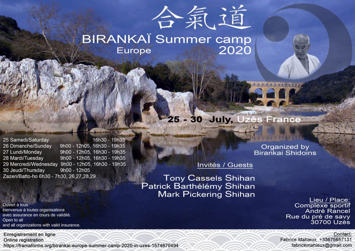 Birankai Europe Summer Camp 2020 Uzès